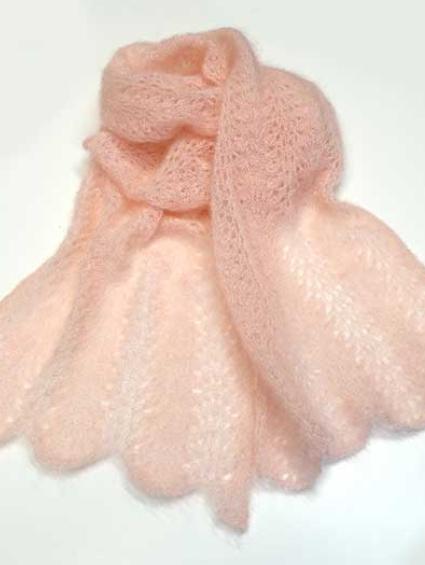 margret botta schal rosa silkhair 01