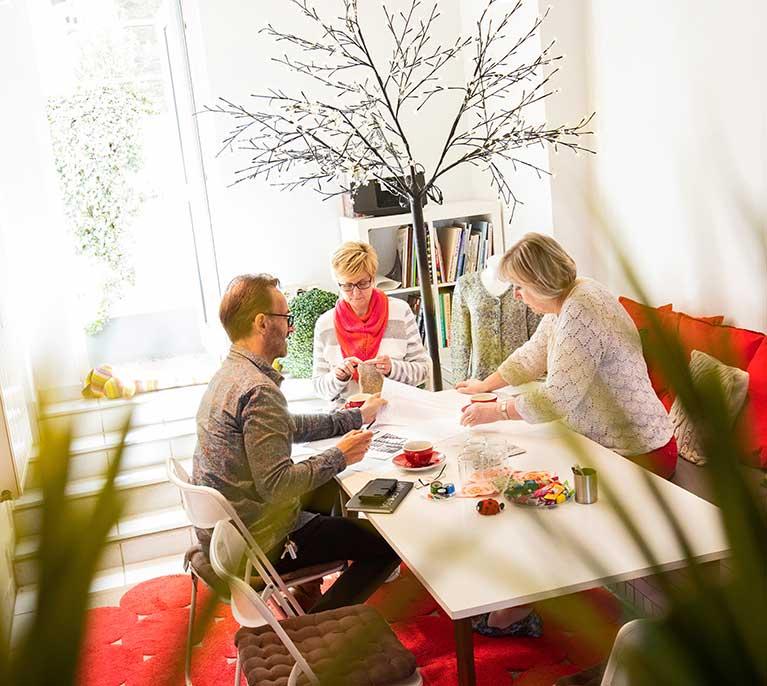 unser kreativ cafe in mobil